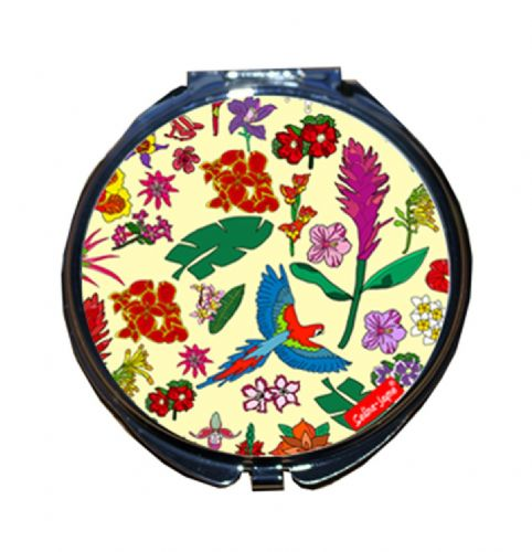 Selina-Jayne Tropical Flowers Limited Edition Compact Mirror